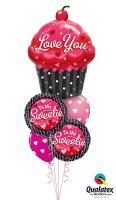 Love You Cupcake Bouquet
