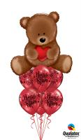 Beary Valentines Bouquet