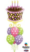 Dotted Birthday Bouquet
