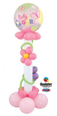 Baby Girl Stand Up balloon delivery